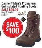 Cabelas Black Friday: Danner Men's Pronghorn Uninsulated Hunting Boots for $99.99