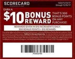 Golf Galaxy Black Friday: $10 Bonus Reward (300 Points) w/ Any Purchase for Free