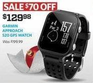 Golf Galaxy Black Friday: Garmin Approach S20 GPS Watch for $129.98