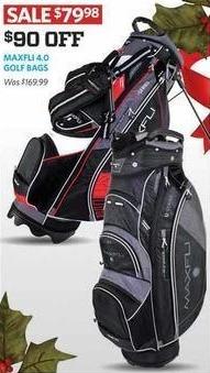 Golf Galaxy Black Friday: Maxfli 4.0 Golf Bags for $79.98