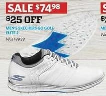 Golf Galaxy Black Friday: Skechers Men's Go Golf Elite 2 Shoes for $74.98