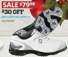 Golf Galaxy Black Friday: Footjoy Men's Sport LT Golf Shoes for $79.98