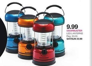 Stage Stores Black Friday: Sharper Image LED Lanterns for $9.99