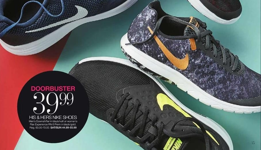 Stage Stores Black Friday: Nike Men's Downshifter Shoes for $39.99