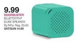 Stage Stores Black Friday: Nifty Bluetooth Cube Speaker for $9.99