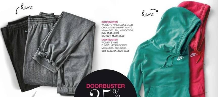 Stage Stores Black Friday: Nike Women's Funnel Neck Hoodies for $37.50