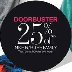 Stage Stores Black Friday: Nike Men's, Women's and Kids' Tees, Pants, Hoodies & More - 25% Off