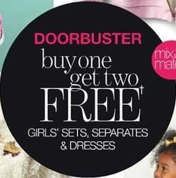 Stage Stores Black Friday: Mix & Match Girls' Sets, Separates and Dresses - B1G2 Free