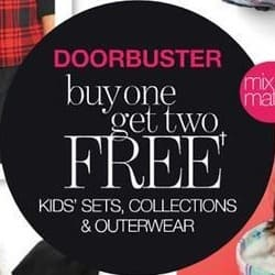 Stage Stores Black Friday: Kids' Sets, Collections and Outerwear - B1G2 Free