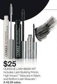 Stage Stores Black Friday: Clinique Lash Bash Kit for $25.00