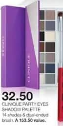 Stage Stores Black Friday: Clinique Party Eyes Shadow Palette for $32.50