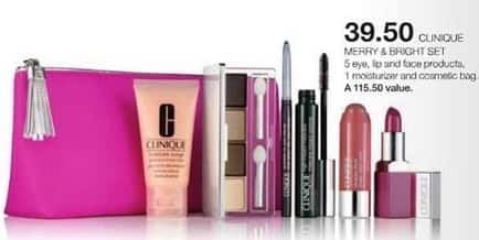 Stage Stores Black Friday: Clinique Merry & Bright Set for $39.50