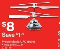 Staples Black Friday: Propel Magic UFO Drone for $8.00