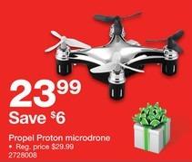 Staples Black Friday: Propel Proton Microdrone for $23.99