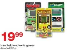 Staples Black Friday: Handheld Electronic Games for $19.99