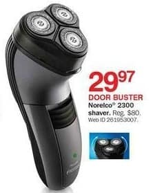 Bon-Ton Black Friday: Norelco 2300 Shaver for $29.97