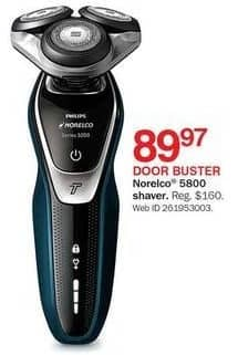 Bon-Ton Black Friday: Philips Norelco 5800 Shaver for $89.97