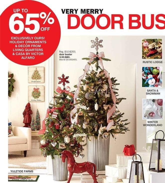 Bon-Ton Black Friday: Living Quarters and CASA by Victor Alfaro Holiday Ornaments and Decor - Up to 65% Off