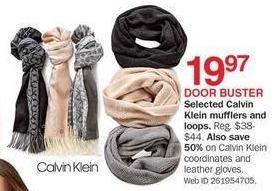 Bon-Ton Black Friday: Calvin Klein Women's Coordinates and Leather Gloves - 50% Off