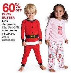 Bon-Ton Black Friday: Kids' Sleepwear for $8.00 - $19.20