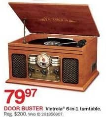 Bon-Ton Black Friday: Victrola 6-in-1 Turntable for $79.97
