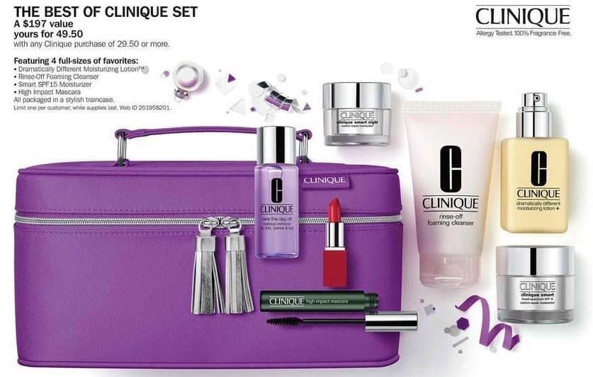 Bon-Ton Black Friday: The Best of Clinique Set w/ Any Clinique Purchase of $29.50 or More for $49.50