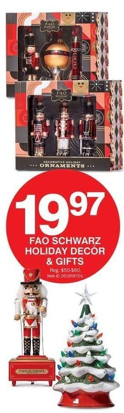 Bon-Ton Black Friday: FAO Schwarz Holiday Decor or Gifts for $19.97