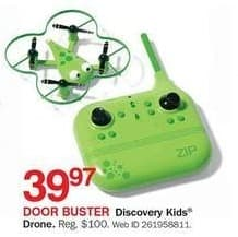 Bon-Ton Black Friday: Discovery Kids Drone for $39.97