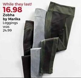 Stein Mart Black Friday: Zobha by Marika Women's Leggings for $16.98