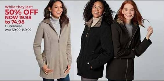 Stein Mart Black Friday: Women's Outerwear, Select Styles for $19.98