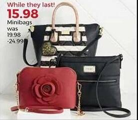 Stein Mart Black Friday: Minibags for $15.98