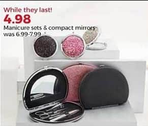 Stein Mart Black Friday: Manicure Sets and Compact Mirrors for $4.98
