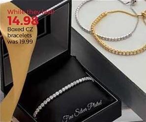 Stein Mart Black Friday: Boxed CZ Bracelets for $14.98