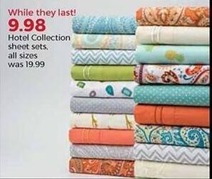 Stein Mart Black Friday: Hotel Collection Sheet Sets, Any Size for $9.98