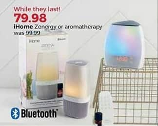 Stein Mart Black Friday: iHome Zenergy or Aromatherapy for $79.98