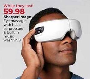 Stein Mart Black Friday: Sharper Image Eye Massage w/ Heat for $59.98