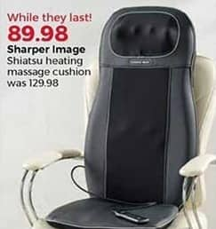 Stein Mart Black Friday Sharper Image Shiatsu Heating Massage