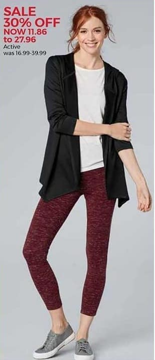 Stein Mart Black Friday: Women's Activewear for $11.86 - $27.96