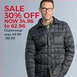 Stein Mart Black Friday: Men's Outerwear - 30% Off