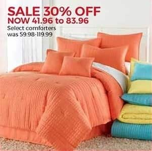 Stein Mart Black Friday: Select Comforters - 30% Off