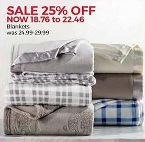 Stein Mart Black Friday: Blankets for $18.76 - $22.46