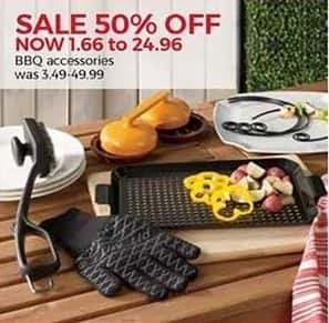 Stein Mart Black Friday: BBQ Accessories - 50% Off