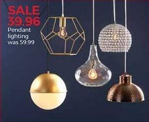 Stein Mart Black Friday: Pendant Lighting for $39.96