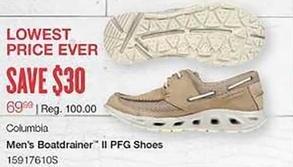 West Marine Black Friday: Columbia Men's Boatdrainer II PFG Shoes for $69.99