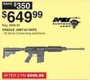 Dunhams Sports Black Friday: DPMS Panther Arms Oracle .308/7.62 NATO Rifle for $649.99
