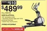 Dunhams Sports Black Friday: ProForm 520E Elliptical for $489.99