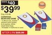Dunhams Sports Black Friday: Corntoss Bean Bag Game for $39.99