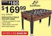 Dunhams Sports Black Friday: EastPoint Newcastle Table Soccer Game for $169.99