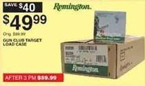 Dunhams Sports Black Friday: Remington Gun Club Target Load Case for $49.99