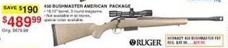 Dunhams Sports Black Friday: Ruger 450 Bushmaster American Package for $489.99